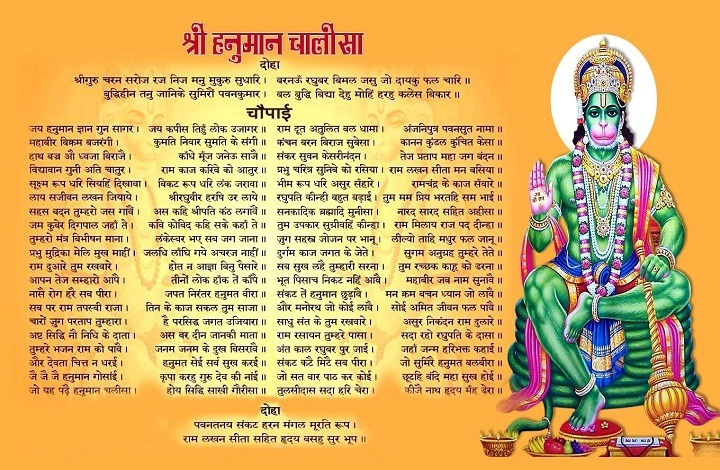 Benefits of Enchanting Hanuman Chalisa