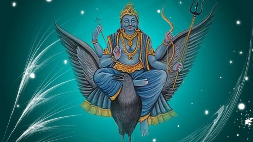 Birth history of Shani Deva