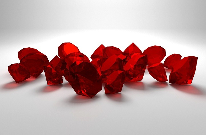 Composition of Ruby Gemstone