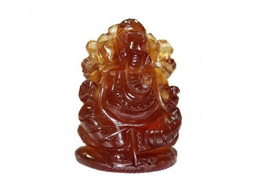Hessonite Ganesha