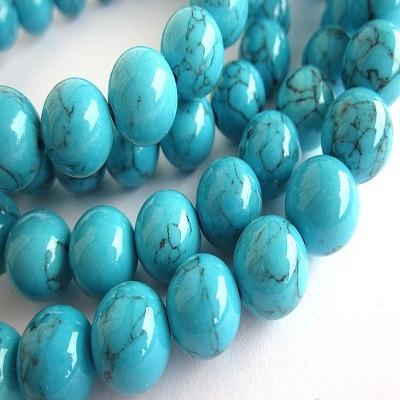 Natural Turquoise Rosary-Firoza Mala