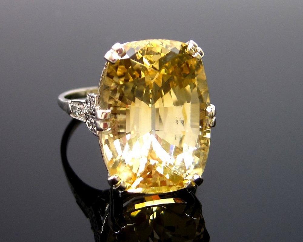 Rituals and Methods of Wearing Yellow Sapphe Gemstoneir