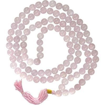 Rose Quartz Rosary - Mala