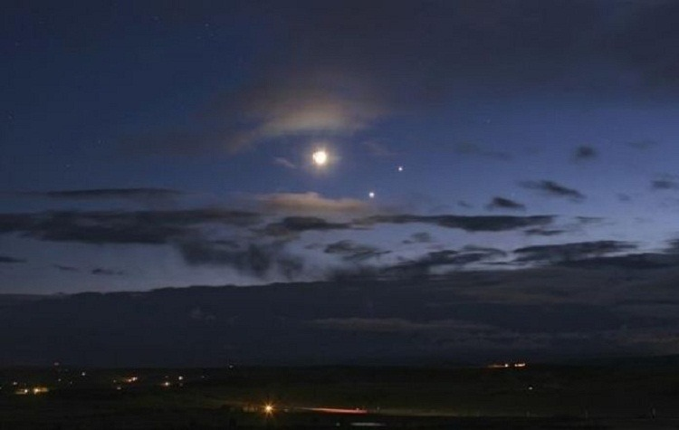 Venus and Jupiter Conjunction