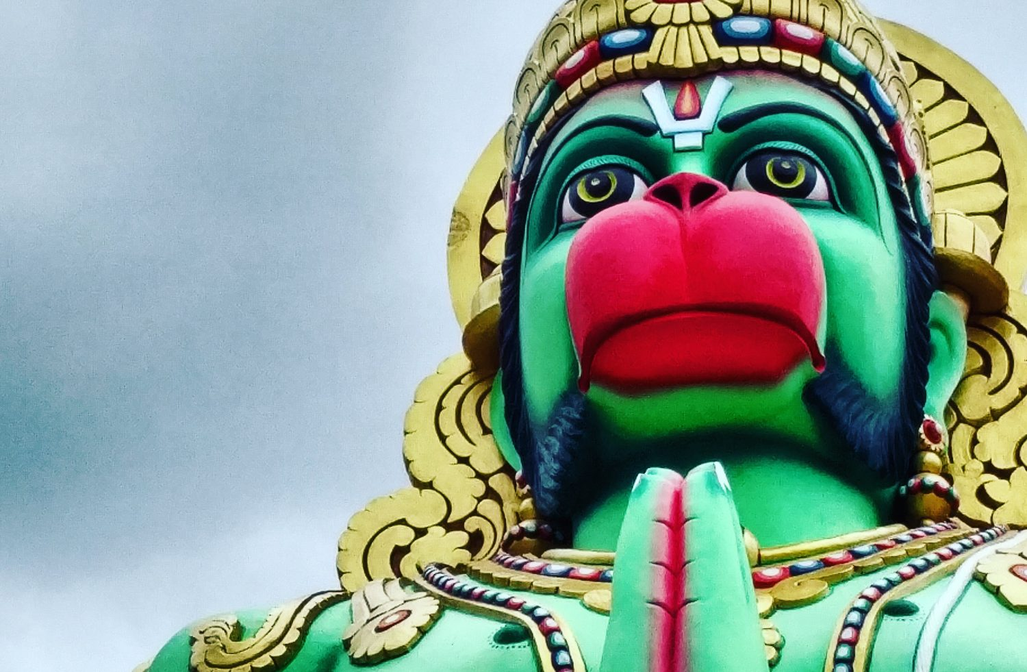 Lord Hanuman Devotion for Strengthening Saturn
