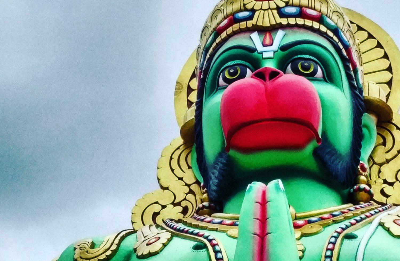 Lord Hanuman Devotion for Strengthening Saturn