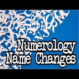 Name change by numerology