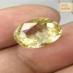 Yellow Sapphire for Jupiter