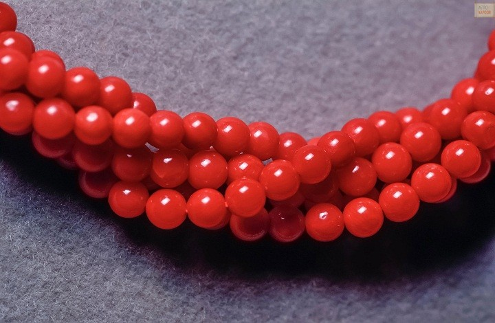 Red coral for early marriage