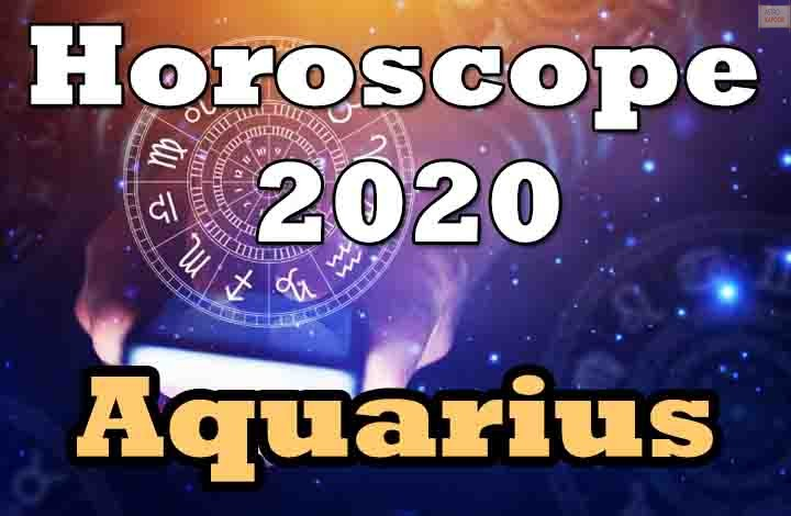 Aquarius Horoscope 2020 Predictions-min