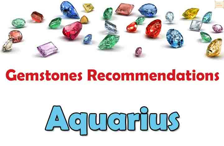 Aquarius - Free Gemstones Recommendations