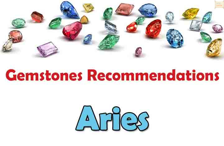 Aries - Free Gemstones Recommendations